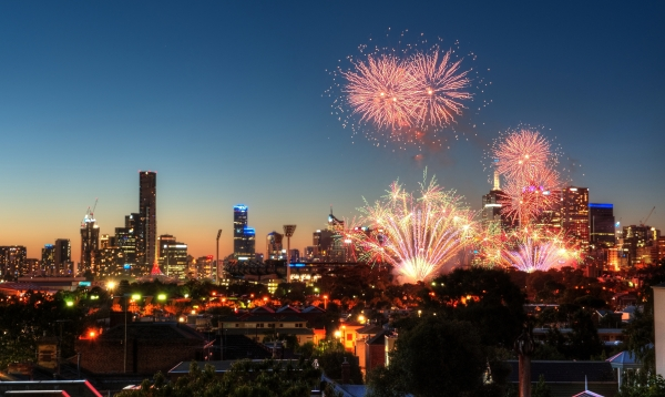 Melbourne New Year Early Eve