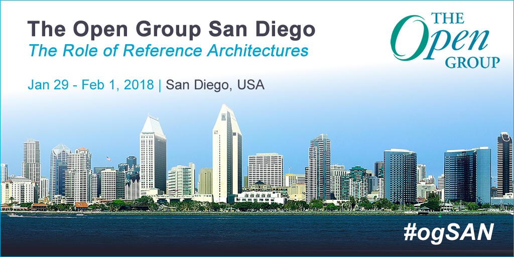 The Open Group January Event To Take Place in San Diego