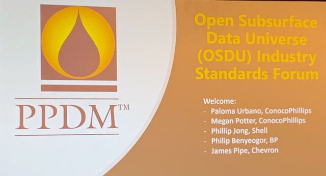 The Open Group Open Subsurface Data Universe™ (OSDU) Forum Update